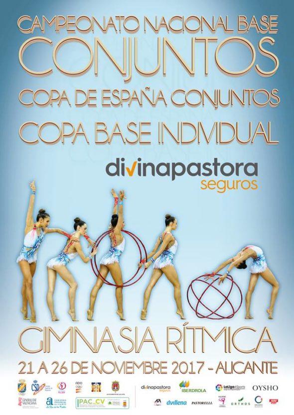 Campeonato de España Nacional Base de Conjuntos en Alicante
