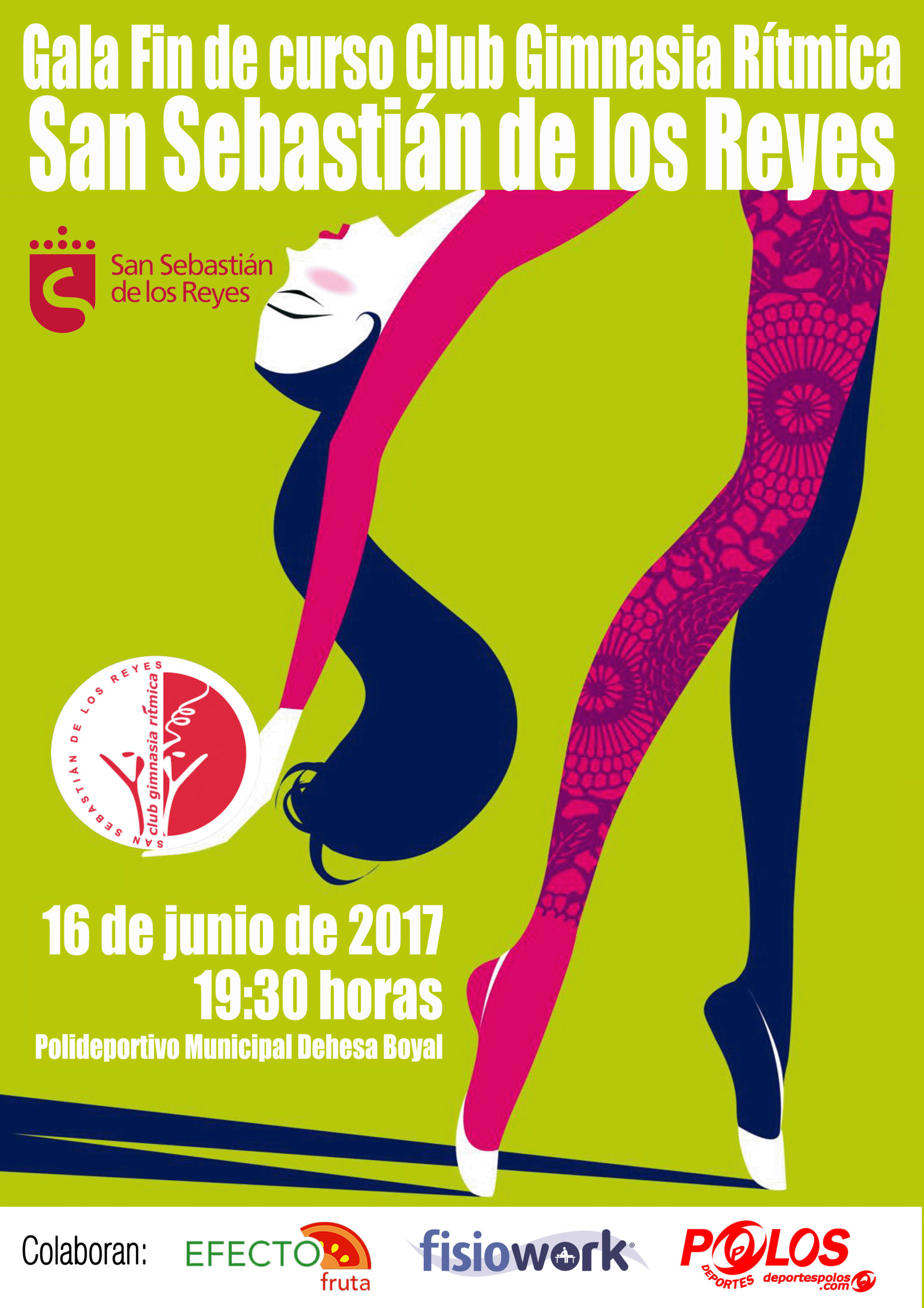 Gala de fin de curso club gimnasia r tmica s s de los reyes for Escuela danza san sebastian de los reyes