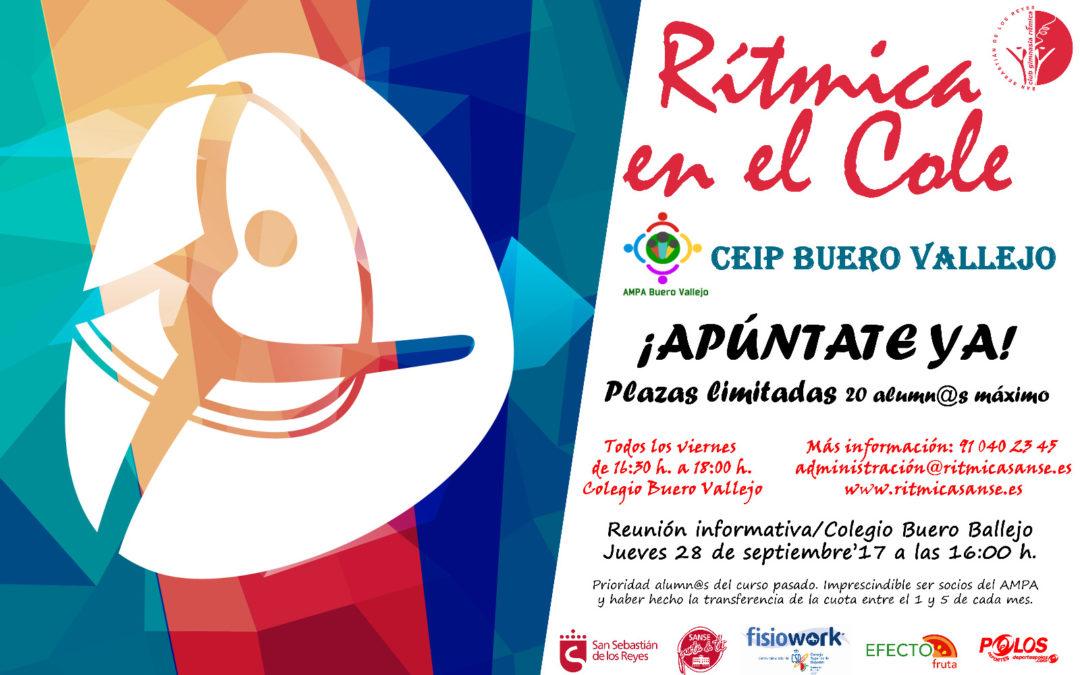 """""""Rítmica en el Cole"""" en el Colegio Buero Vallejo"""