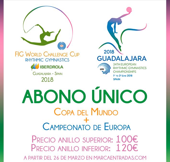 Mañana lunes: abonos a la venta para la Copa del Mundo y el Europeo!!