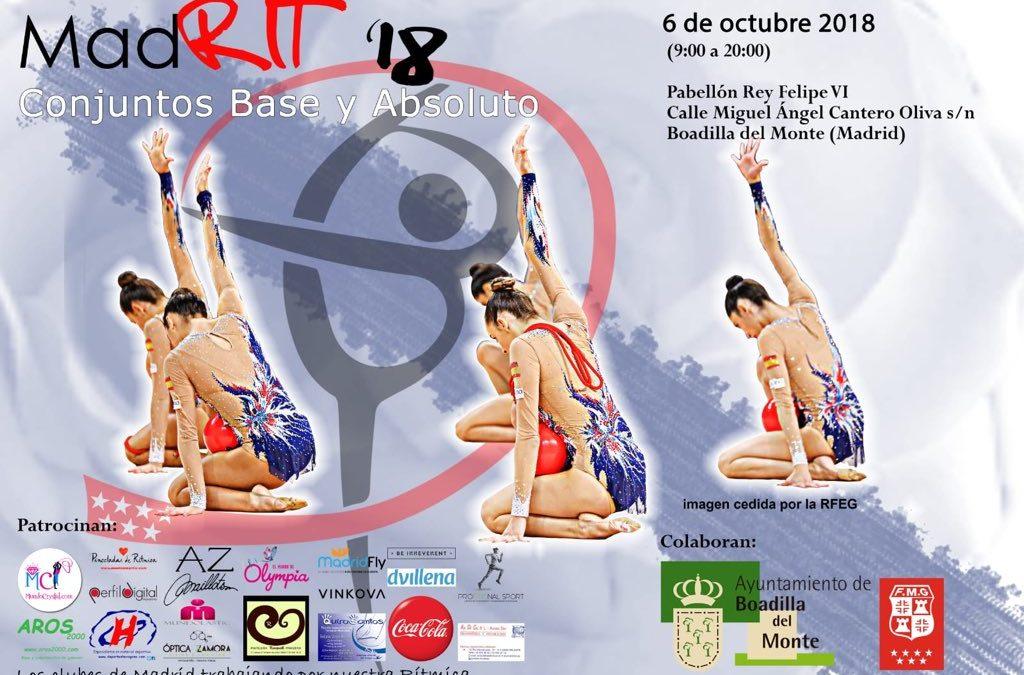 ¡¡El sábado nos vamos al MadRIT'18!!