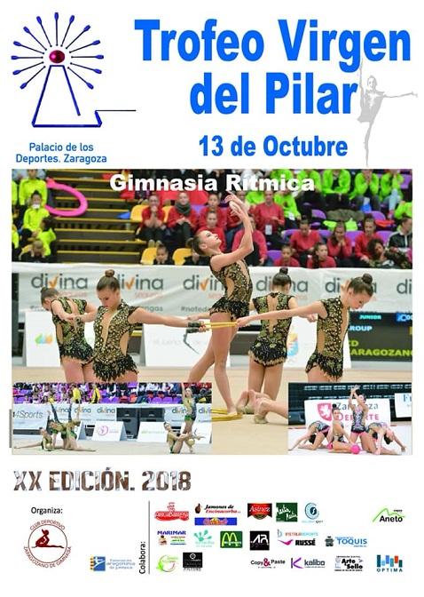 Este fin de semana al XX Trofeo Virgen del Pilar en Zaragoza