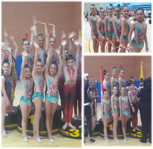Oro para las Alevines en Federación y pase a la Final!!!