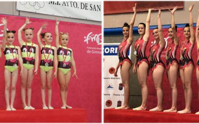 Oro para Prebenjas e Infantiles en Federación y … a la Final!