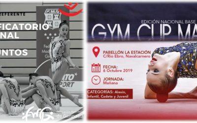 Este finde: Clasificatorio para el Campeonato Nacional de Conjuntos y GYMCUP!!