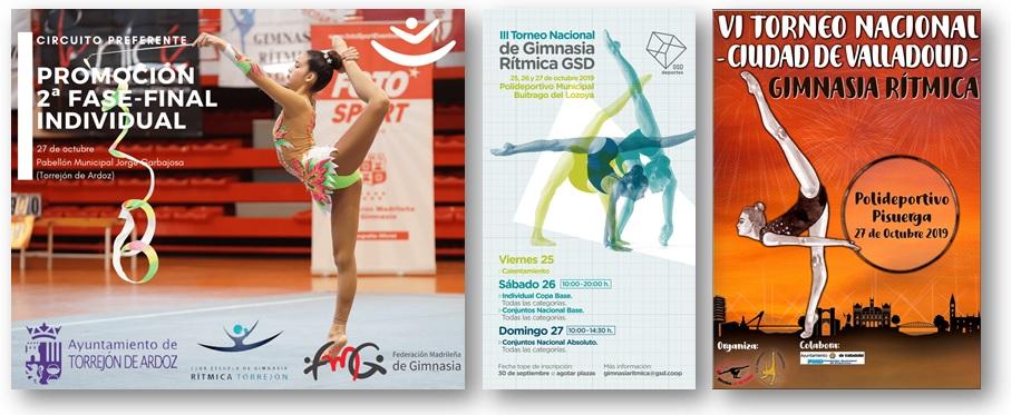 Recta final: 2nda Fase Promoción Individual, III Torneo GSD y VI Torneo Ciudad de Valladolid