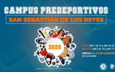 Información importante: Campus de verano 2020