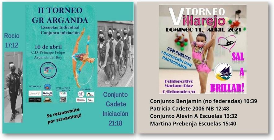 Este fin de semana, torneos en Arganda y en Villarejo de Salvanés