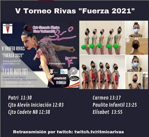 Este lunes competimos en el Torneo Rivas