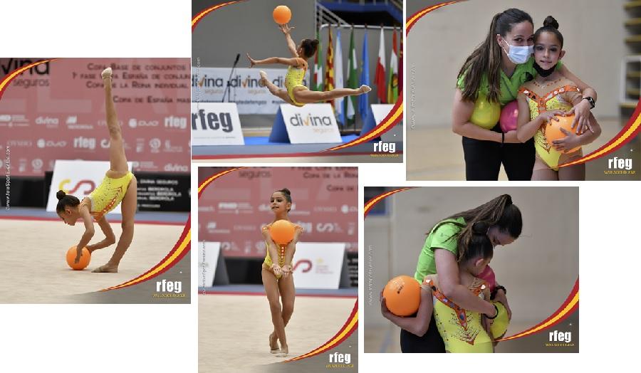 Carmen brilla en el Campeonato Nacional Base Individual